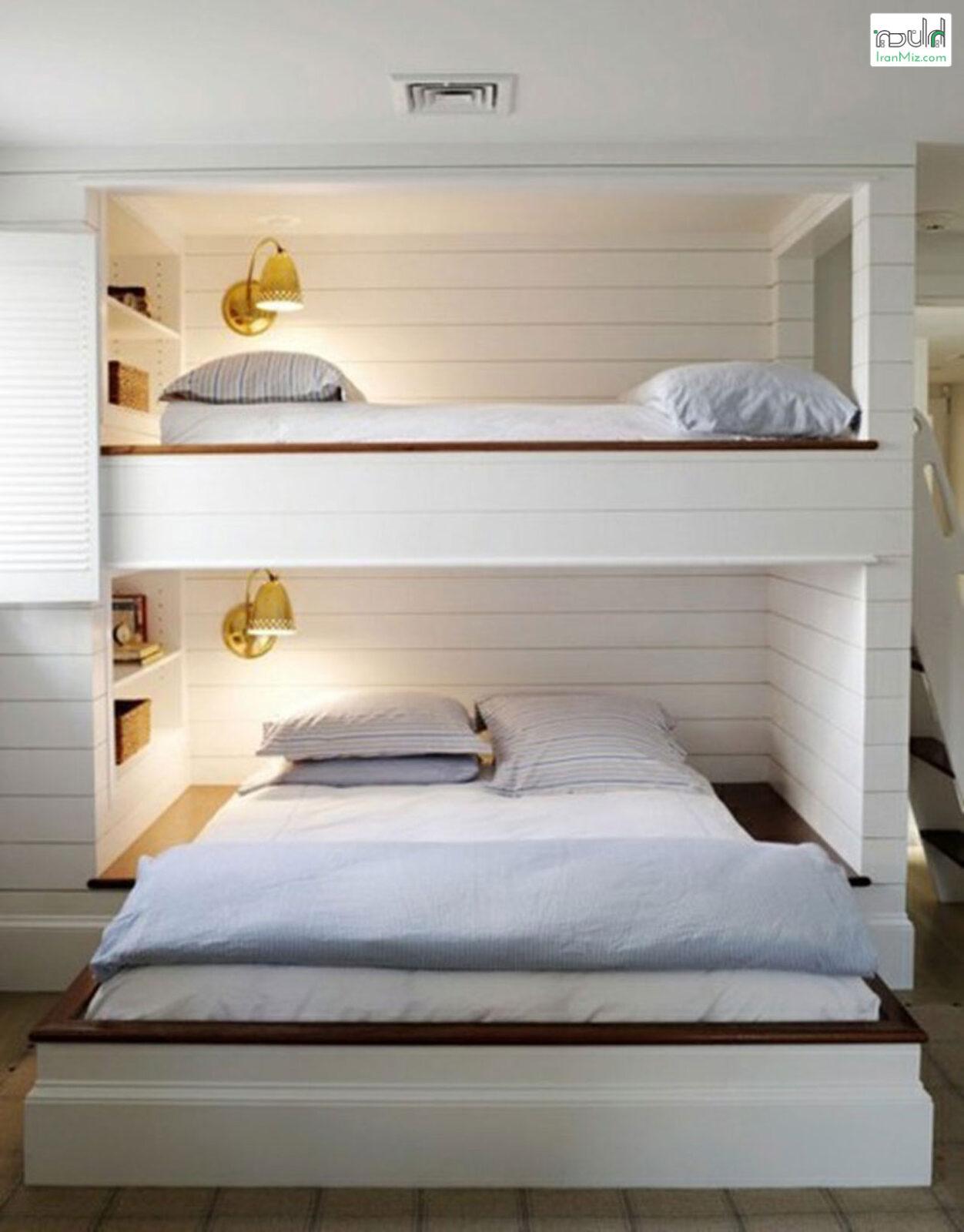 تختخواب دوطبقه مدرن