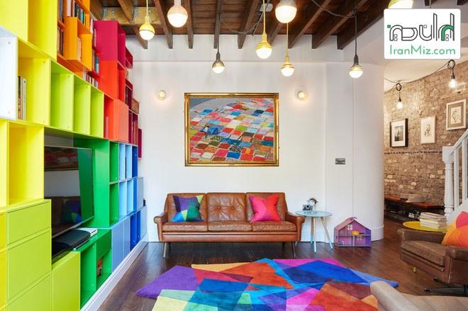 فرش با اشکال هندسی