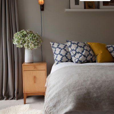 اتاق خوابی آرام تر و زیباتر