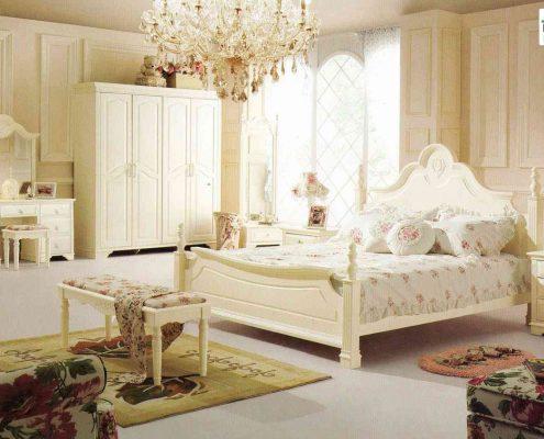 اتاق خواب لوکس به سبک فرانسوی