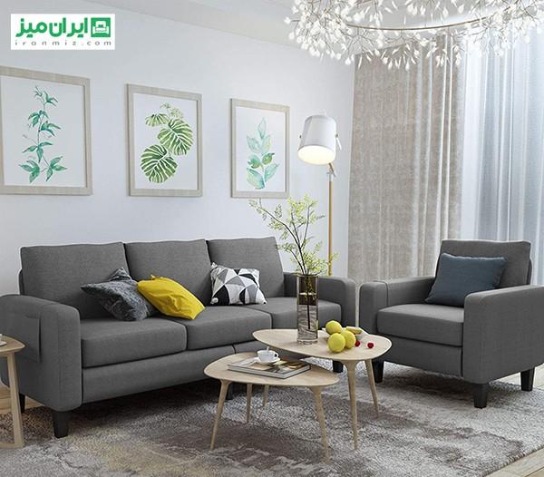 ۶ نکته مهم تزئین اتاق نشیمن