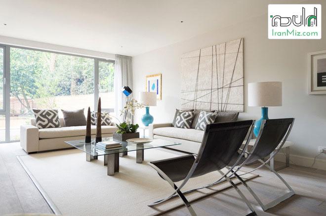 ۶ روش که مبلمان، وسایل چوبی و فلزی و همینطور ترکیب چیدمان اتاق نشیمن شما را متحول می کند