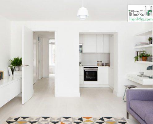 بهترین روش های خلق فضای بیشتر در آپارتمان های کوچک