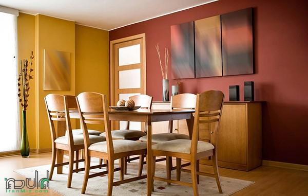 بهترین رنگ برای دکوراسیون اتاق ناهارخوری چیست؟
