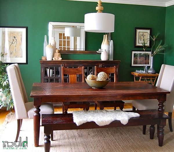 بهترین رنگ اتاق ناهارخوری چیست؟