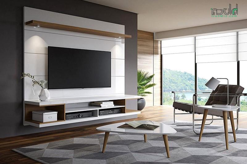 انواع متریال ساخت میز تلویزیون