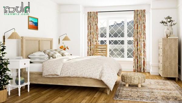 راهنمای چیدن دکوراسیون اتاق خواب کوچک