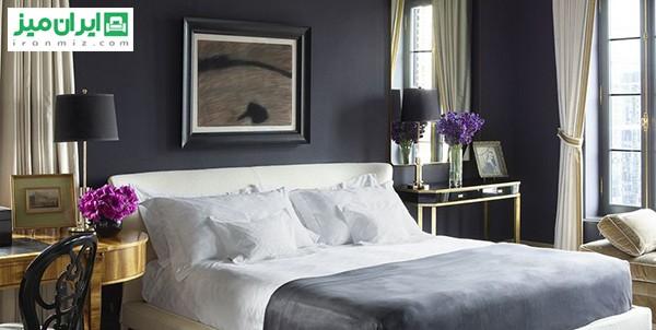 رنگ سیاه در اتاقخواب