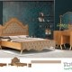 سبک دکوراسیون و سرویس خواب چوبی