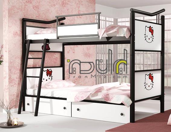تخت دو طبقه کیتی