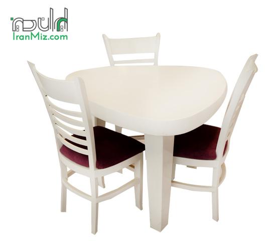 میز ناهارخوری مثلثی