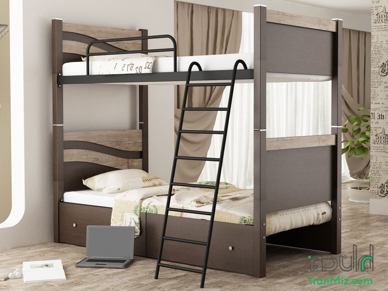 تخت دو طبقه صحرا