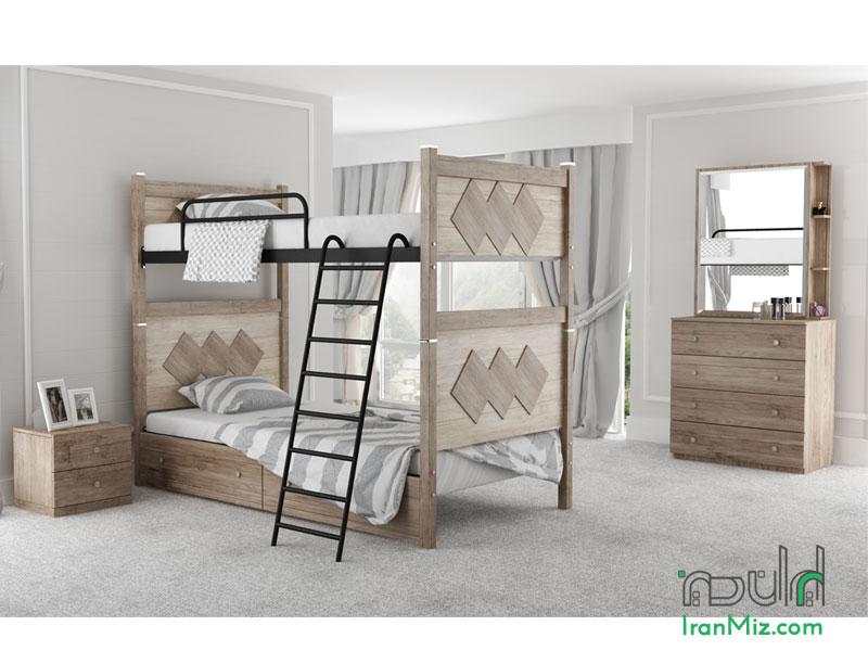 تخت دو طبقه آلیس