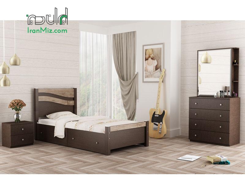 تخت یک نفره صحرا