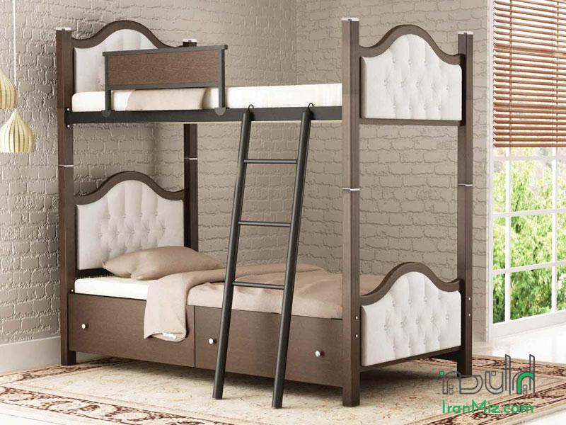 تخت دوطبقه رویال