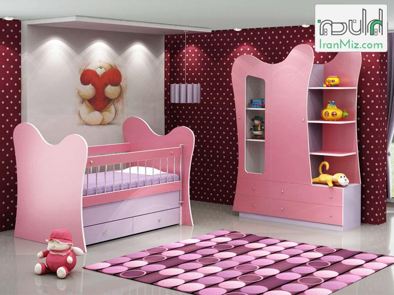 تخت کودک روژا
