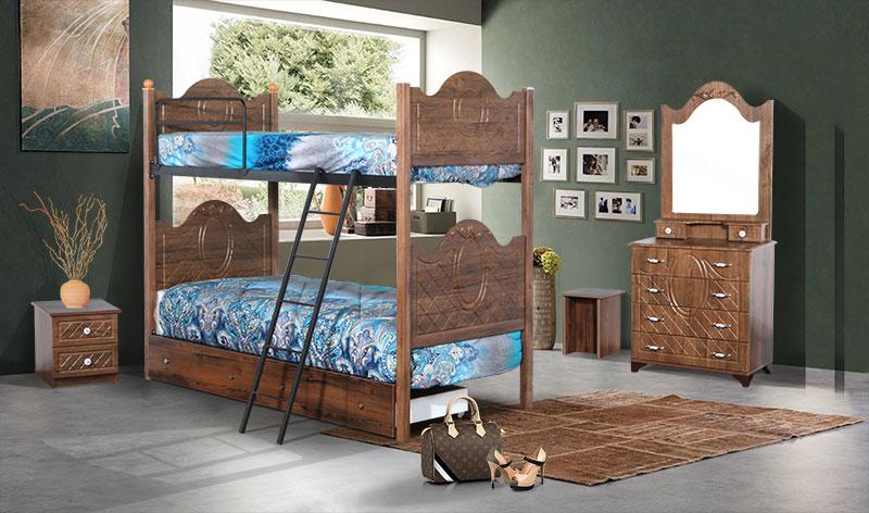 تخت دو طبقه مدل آرمان