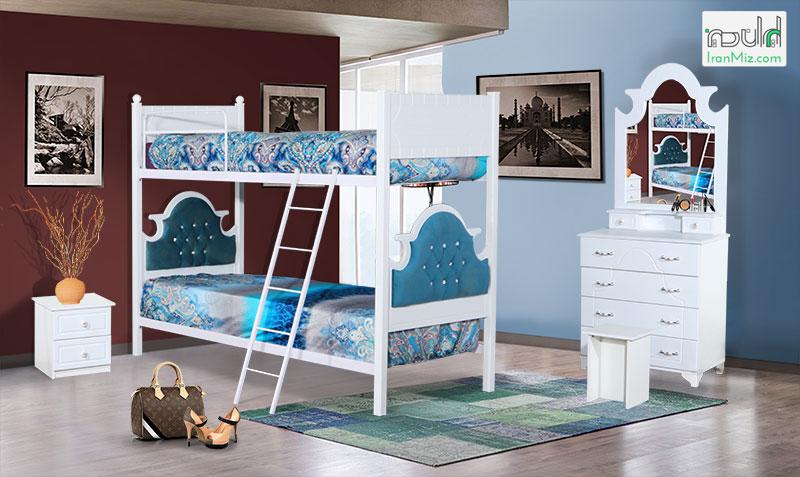 تخت دوطبقه نیلدا