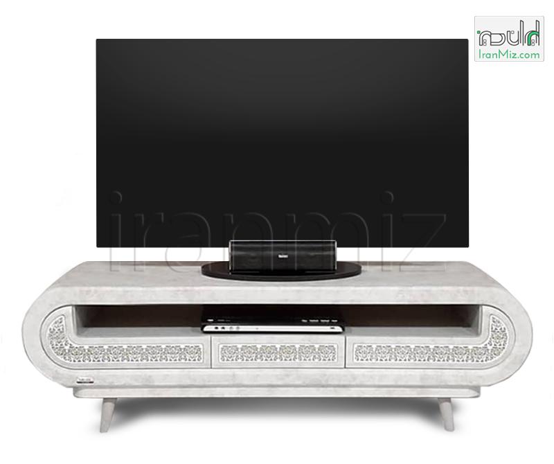 میز تلویزیون ساتیا سفید