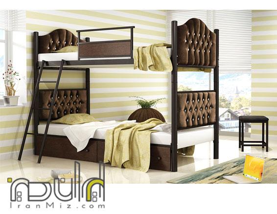 تخت دو طبقه راما