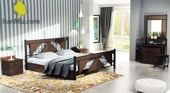 تخت دو نفره کلاسیک
