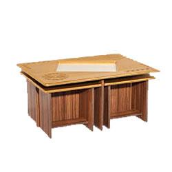 میز تلویزیون مدل میزجلومبلی صدف