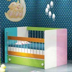 تخت نوزاد رنگین کمان