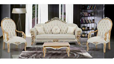 میز تلویزیون مدل مبل کلاسیک پردیس