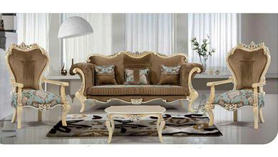 میز تلویزیون مدل مبل کلاسیک مونیکا