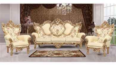 میز تلویزیون مدل مبل کلاسیک یاشیل
