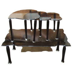قیمت میز عسلی شیشه ای