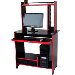 میز کامپیوتر مدل کانتر A شیشه ای