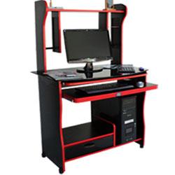 میز کامپیوتر مدل کانتر B شیشه ای
