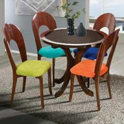 میز ناهار خوری رنگین
