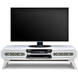 میز تلویزیون هومان سفید
