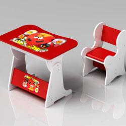 میز کامپیوتر مدل میز و صندلی کودک