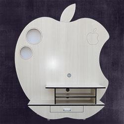 میز تلویزیون مدل میز تلویزیون اپل(سفید)