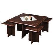 میز تلویزیون مدل جلو مبلی وکیوم 107