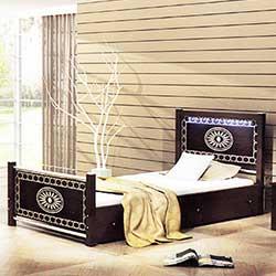 میز تلویزیون مدل تخت خواب یکنفره پرستیژ