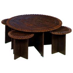 میز تلویزیون مدل جلو مبلی وکیوم 112