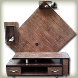 میز تلویزیون مدل مثلث